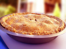 Baked Pie. Makes you hungry Stock Photos