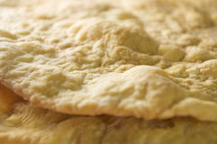 Baked piece layers Stock Photography