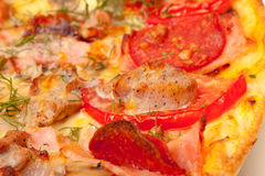 Baked Pizza Royalty Free Stock Image