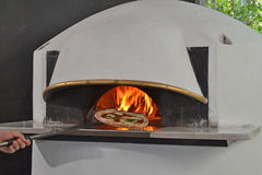 Baked  pizza Royalty Free Stock Photos