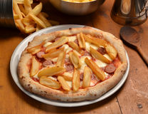 Baked  pizza Royalty Free Stock Photography