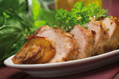 Baked pork Royalty Free Stock Photography