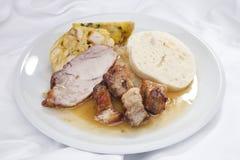 Baked pork chop Stock Photos