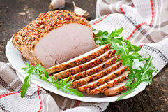 Baked pork Stock Photos