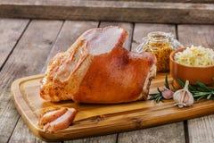 Baked pork shank Stock Photography