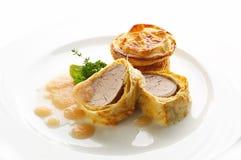 Baked pork tederloin Stock Image