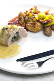 Baked pork tenderloin Stock Photography