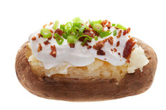 Baked Potato Stock Image