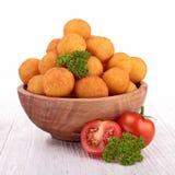 Baked potato ball Royalty Free Stock Photos