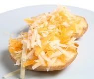 Baked Potato & Cheese Stock Image