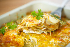 Baked potato with cheese Stock Photos