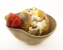 Baked potato Royalty Free Stock Images