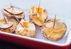 Baked potato Royalty Free Stock Photography