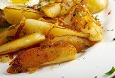 Baked potato Stock Photography