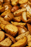 Baked Potato Wedges Royalty Free Stock Photos