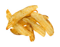 Baked potato wedges Stock Photo