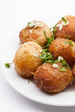 Baked potato Stock Photography