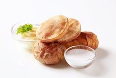 Baked potatoes Stock Photo