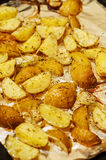 Baked potatoes Royalty Free Stock Photography