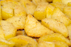 Baked Potatoes Royalty Free Stock Images