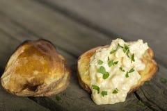 Baked potatoes Royalty Free Stock Image
