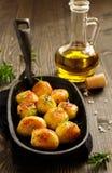 Baked potatoes with rosemary Royalty Free Stock Photo