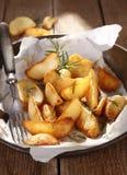 Baked potatoes Royalty Free Stock Photo