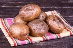 Baked potatoes Royalty Free Stock Photo