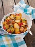 Baked potatoes Royalty Free Stock Photos
