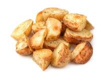 Baked potatoes wedges Stock Image