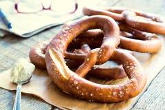 Baked pretzel Royalty Free Stock Image
