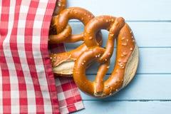 Baked pretzels Stock Photography