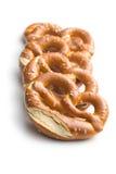 Baked pretzels Stock Photo