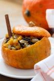 Baked pumpkin biryani Stock Image