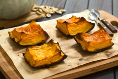 Baked Pumpkin Royalty Free Stock Photo