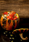 Baked pumpkin Royalty Free Stock Images