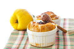 Baked quince Royalty Free Stock Photography