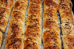 Baked rolls  Royalty Free Stock Photos