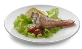 Baked rosefish Stock Image