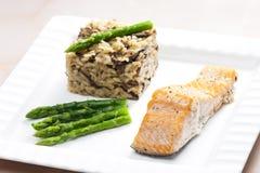 Baked salmon Royalty Free Stock Photos