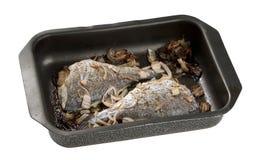 Baked Sea Bream Stock Photo