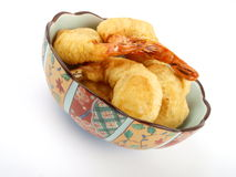 Baked shrimp Royalty Free Stock Photography