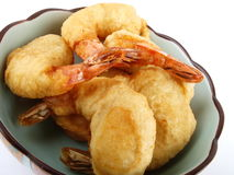 Baked shrimp Royalty Free Stock Images