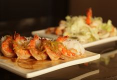 Free Baked Shrimp With Rice Stock Photos - 39903433