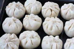Baked Siew Pau-Chinese Cake Stock Photography