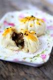 Baked Siew Pau-Chinese Cake Stock Image
