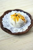 Baked Siew Pau-Chinese Cake Royalty Free Stock Image