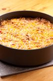Baked spaghetti Royalty Free Stock Photography