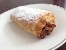 Baked Strudel Dessert Pastry Stock Photos