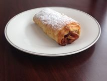 Baked Strudel Dessert Pastry Royalty Free Stock Photography